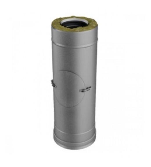 Труба L500 мм с лючком ревизии