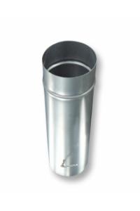 Дымоход одностенный Шибер-заслонка 0,5 м