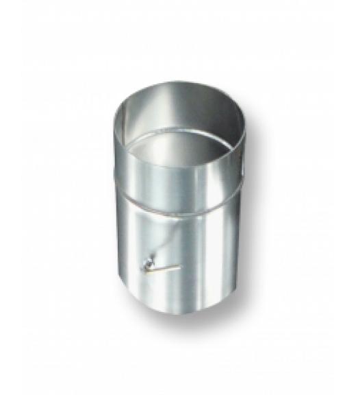 Дымоход одностенный Шибер-заслонка 0,25 м