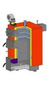 Altep KT-1E 20 кВт  котел длительного горения